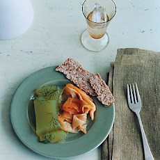 Arctic Char Gravlaks with Cucumber Jelly