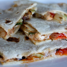 Loaded Vegetable Quesadilla