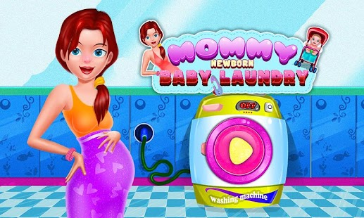 Newborn Laundry Baby Games - screenshot