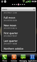 Screenshot of AstroClock