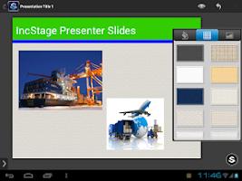 Screenshot of IncStage Presenter