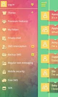Screenshot of GO SMS PRO CARDS  THEME EX