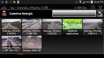 Screenshot of Atlanta and Georgia Cameras