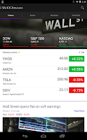 Screenshot of Yahoo Finance