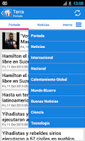 Screenshot of Perú Noticias