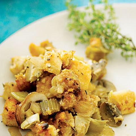 Artichoke Parmesan Sourdough Stuffing Recipe | Yummly