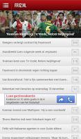 Screenshot of Feyenoord Nieuws - FR12.nl