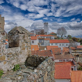 Bragança Castle by Dominique Abreu - City,  Street & Park  Historic Districts ( houses, skyline, castle, portugal, historic )