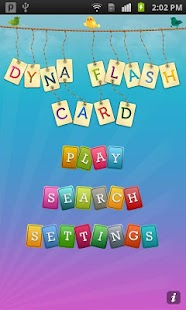 Dyna Flashcard Pro - screenshot