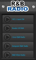 Screenshot of R&B Radio