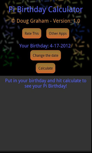 【免費生活App】Pi Birthday-APP點子