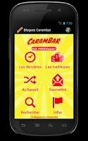Screenshot of Blagues Carambar
