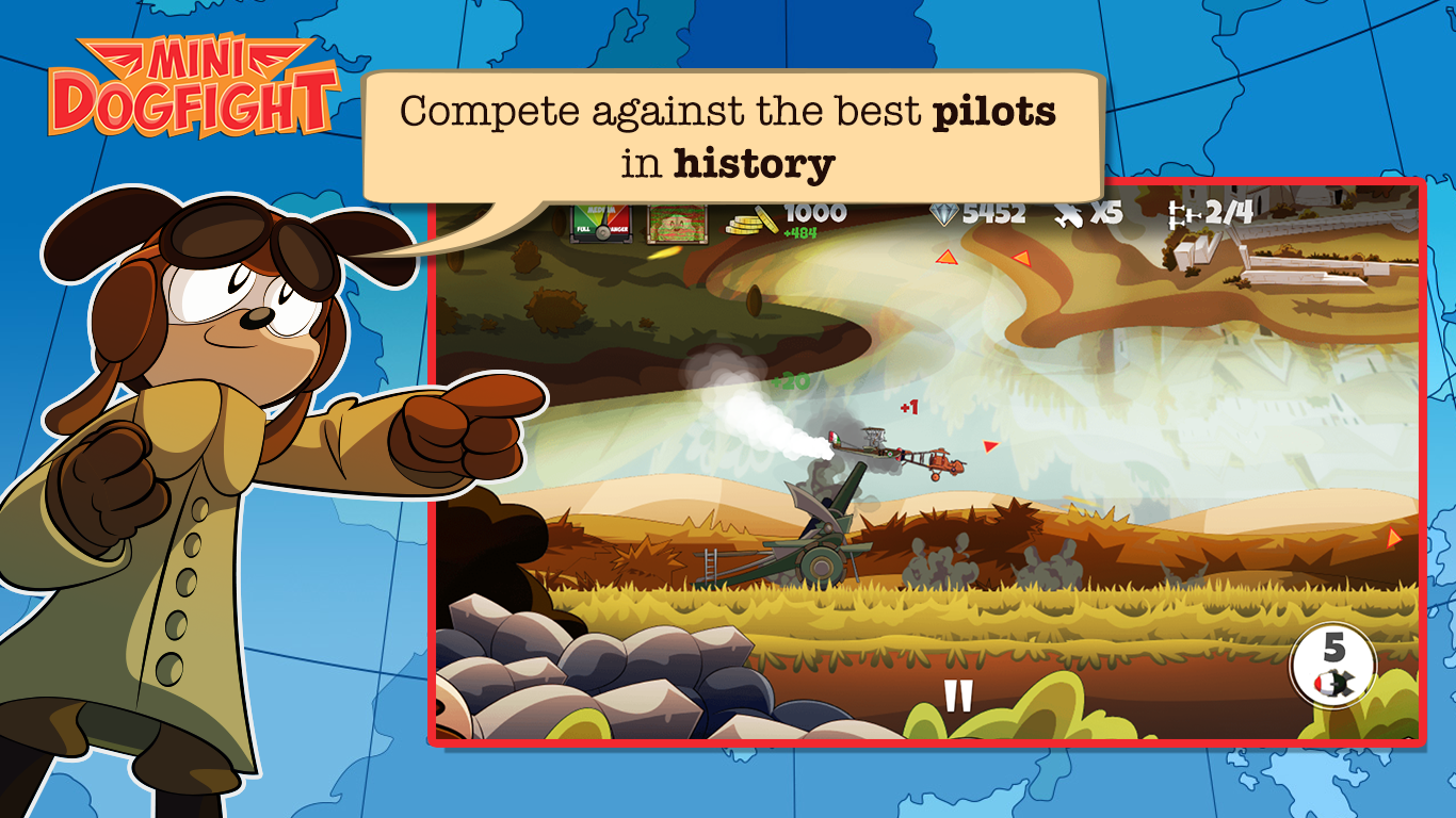 Mini Dogfight Screenshot 3