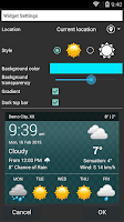 Screenshot of Weather XL PRO