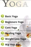 Screenshot of Pure Healing Yoga