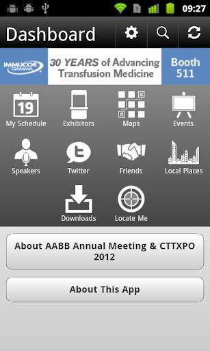 AABB Meeting CTTXPO 2012