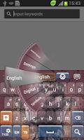 Screenshot of Black Rose Keyboard