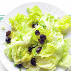 Green Salad with Olives