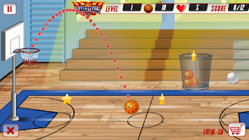 Screenshot of Basketball PRO