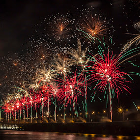 by Kelvin Zyteng - Abstract Fire & Fireworks (  )