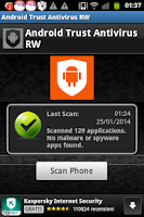 Screenshot of Android Trust Antivirus RW