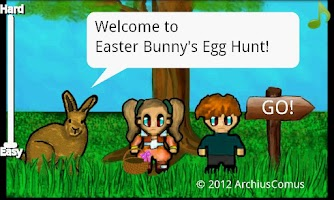 Screenshot of Easter Bunny's Egg Hunt Free