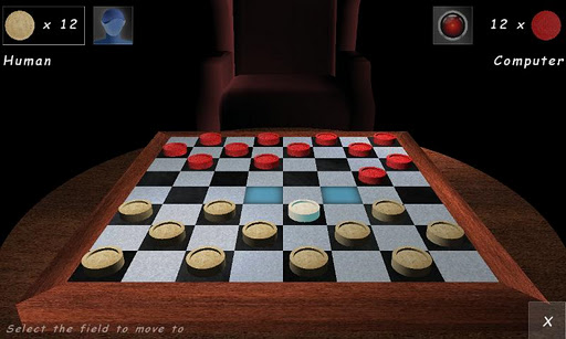 Checkers Lounge 3D