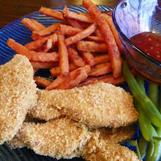 Oven-Baked Crispy Chicken Tenders