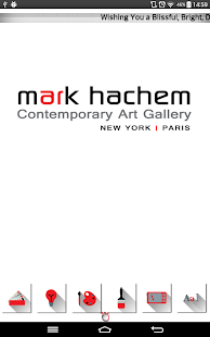Mark Hachem Gallery - screenshot