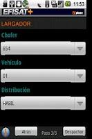 Screenshot of Bus Dispatching