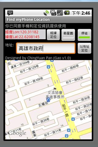 GPS Auto SOS with SMS