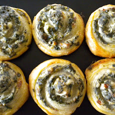 Little Spinach Pinwheels