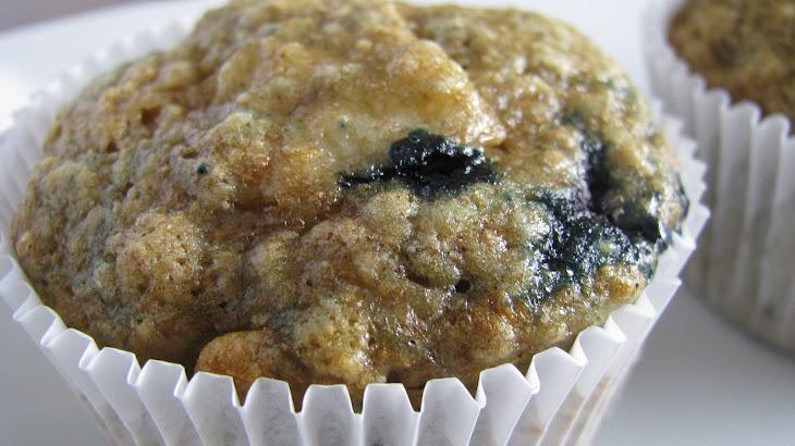 Whole Wheat Blueberry Banana Bread Muffins Recipe | Yummly