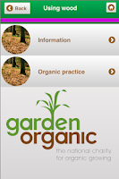 Screenshot of Organic Gardening Guidelines