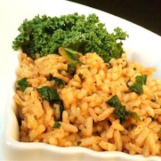 Cajun Kale and Rice