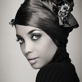Hasha  by Asfa Karim - People Portraits of Women