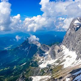 Alps by Mihai Popa - Landscapes Mountains & Hills ( der dachstein, concurs, filzmoos, austria )