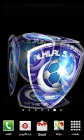 Screenshot of 3D Al Hilal Live Wallpaper