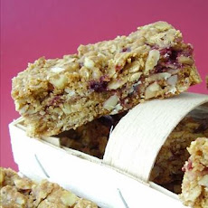 PB&J Energy Oat Bars