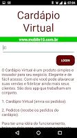 Screenshot of Virtual Menu
