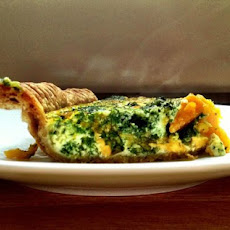 Savory Pumpkin and Spinach Tart
