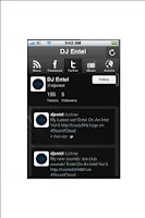 Screenshot of DJ Entel