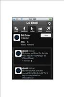 Screenshot of DJ Entel