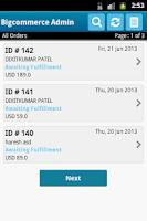 Screenshot of Bigcommerce Admin App