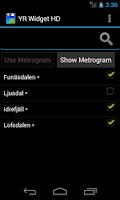 Screenshot of YR weather widget HD