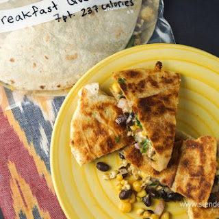 Frozen Breakfast Quesadillas