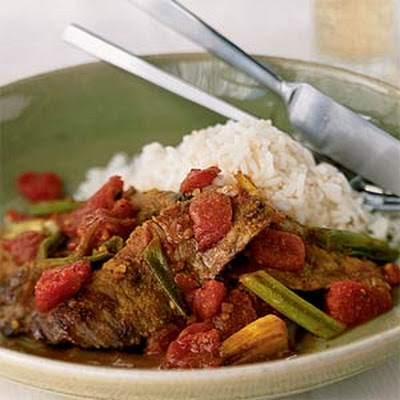 Quick Curried Beef