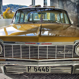 Oslo Motor Show by Jose Figueiredo - Transportation Automobiles ( old, cars, show,  )