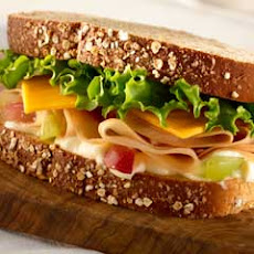 Honey Roasted Turkey Sandwich