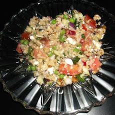 Walnut, Feta & Apple Tabbouleh
